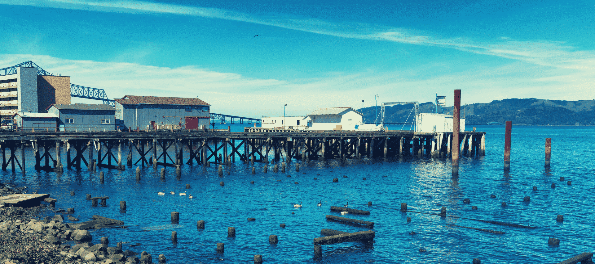 Cannery Row along Monterey Bay